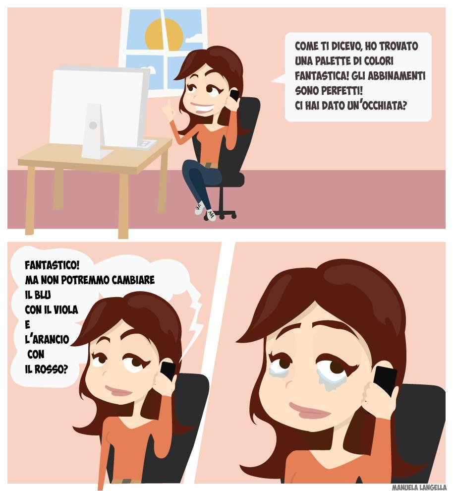 Fumetto di Manuela Langella