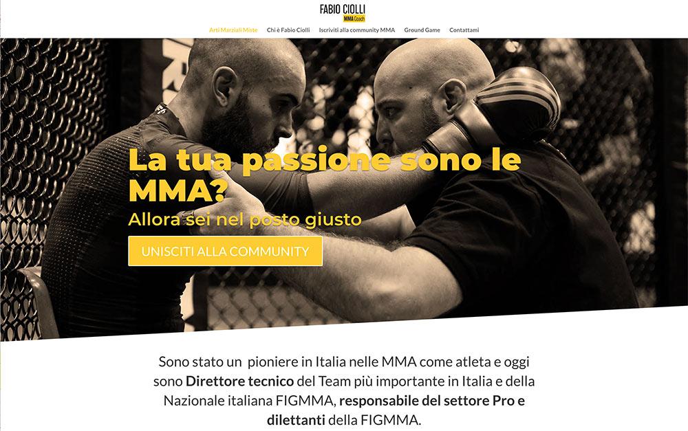 Fabio Ciolli sito web