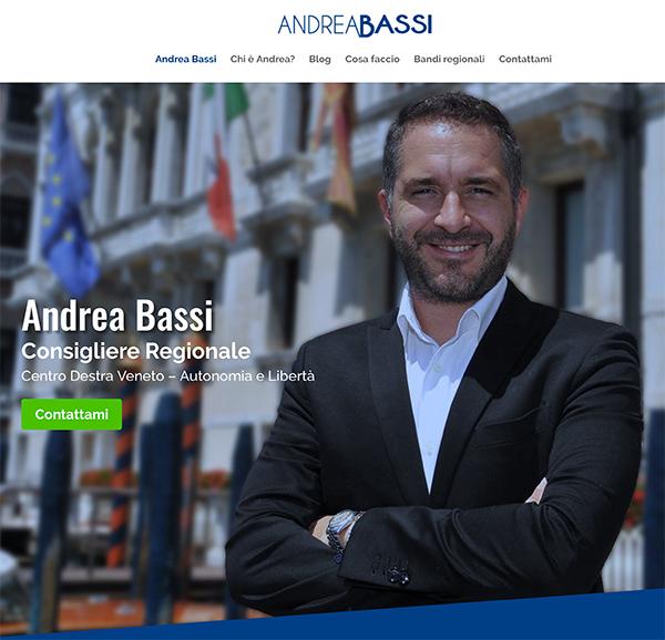Sito web andreabassi.eu