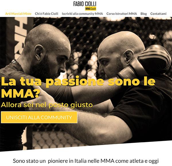 Sito web fabiociolli.com