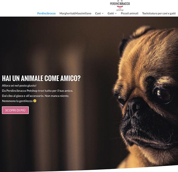 Sito web perdincibracco.com